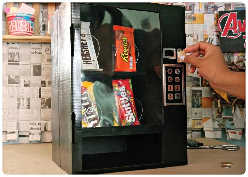 maquina de dulces engañar