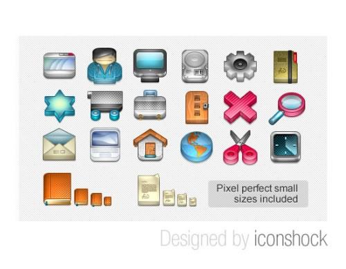 Iconos 3D