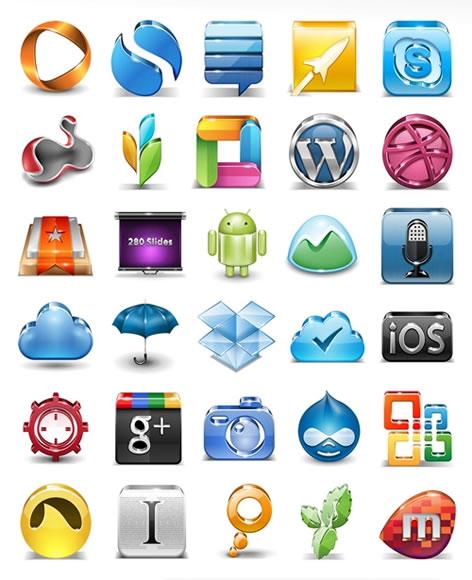 Iconos gratis de aplicaciones
