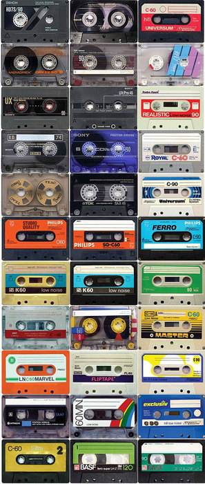 tipos de cassettes