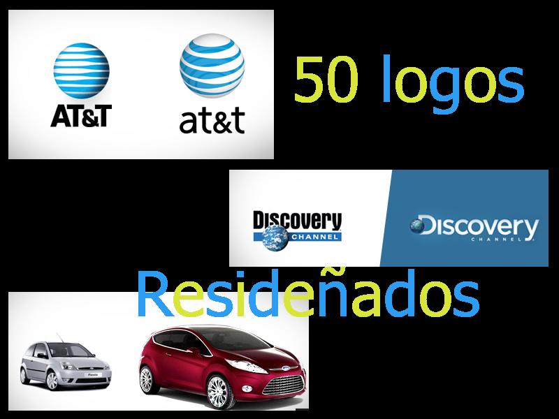 50 logos rediseñados