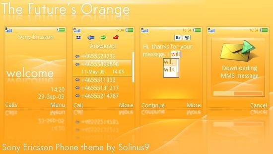Temas para celulares Sony Ericsson 1