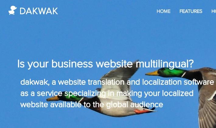 dakwak multilingual site
