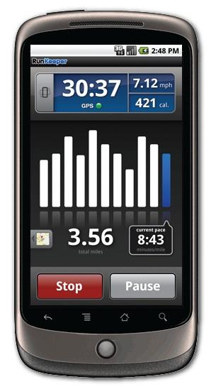 Runkeeper aplicación para actividad física