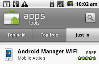 Sincronizar Android con Wifi