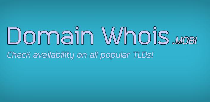 domain whois para android