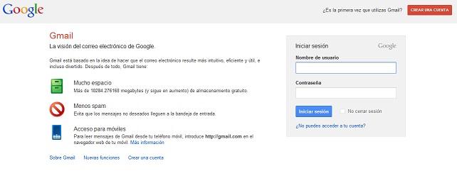 gmail doble verificación
