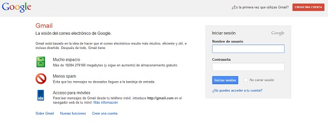 gmail doble verificación