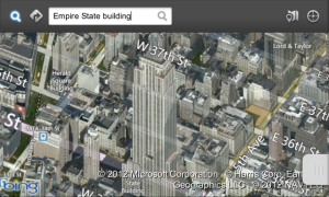 Enyo Maps with Bing