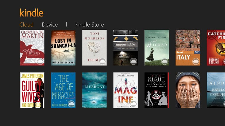 Kindle para Windows 8