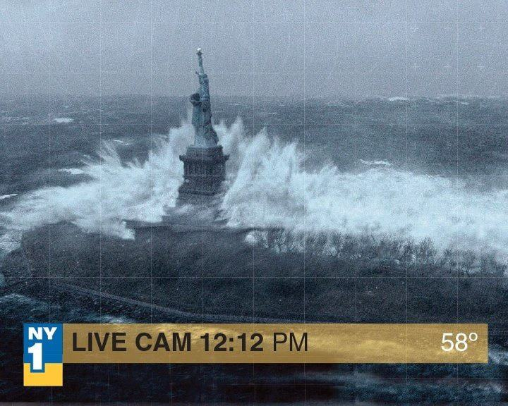 Fotos falsas del huracán sandy