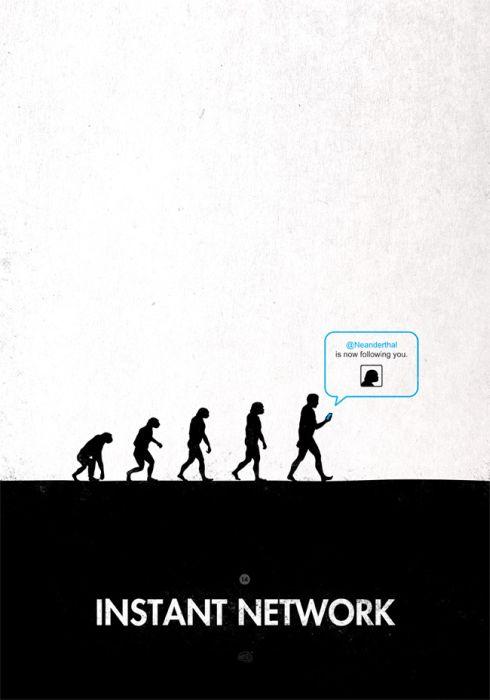 imágenes de la evolución del hombre