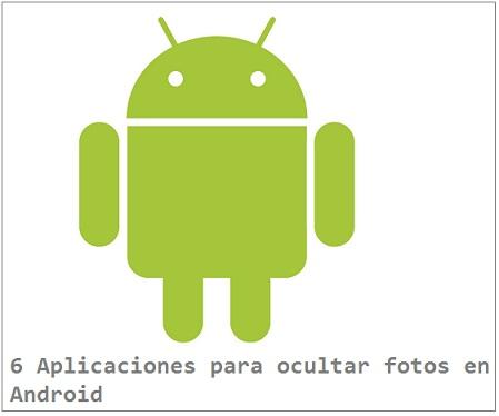 ocultar fotos en Android