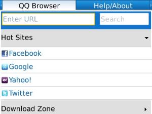 qq browser para blackberry