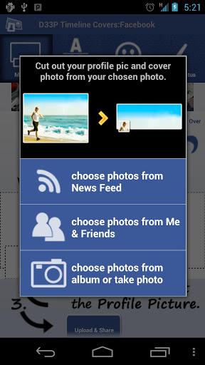 Crear portadas para Facebook