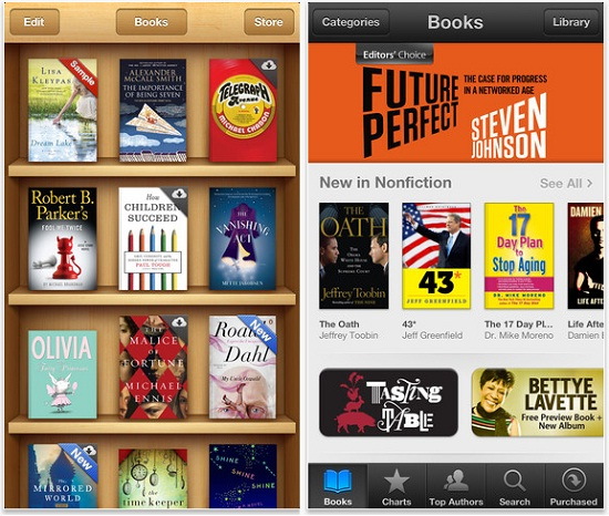 aplicaciones para leer ebooks en tu iPhone o iPad