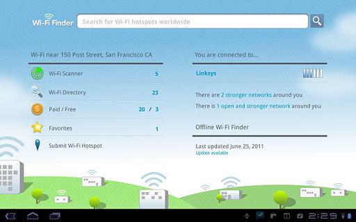 aplicaciones para buscar redes wifi en android