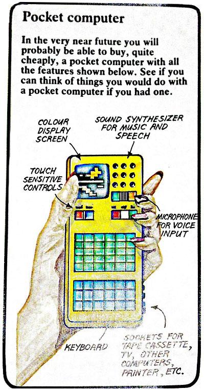 computadora de bolsillo