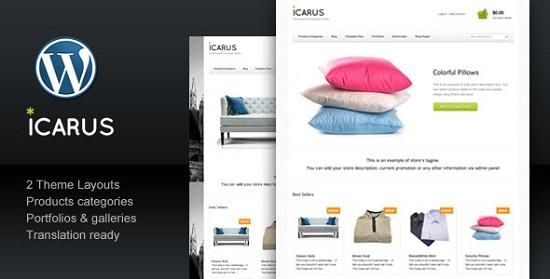 icarus theme