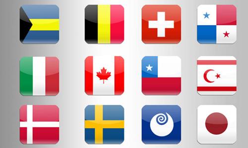 iconos de banderas 10