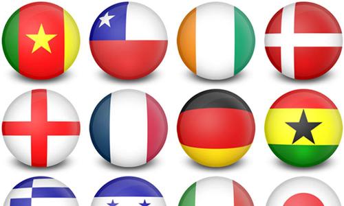 iconos de banderas 3