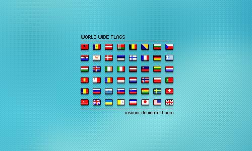 iconos de banderas 7