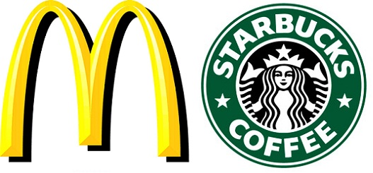 mcdonalds starbucks
