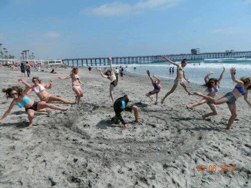 puñetazo playa