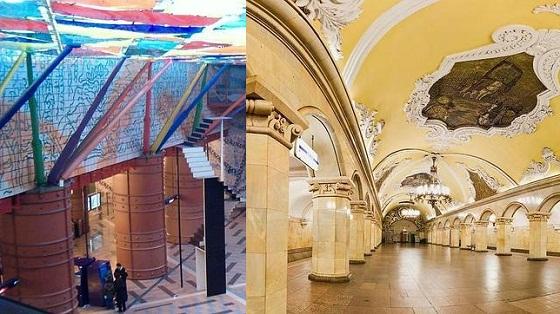 estaciones de metro más lindas del mundo