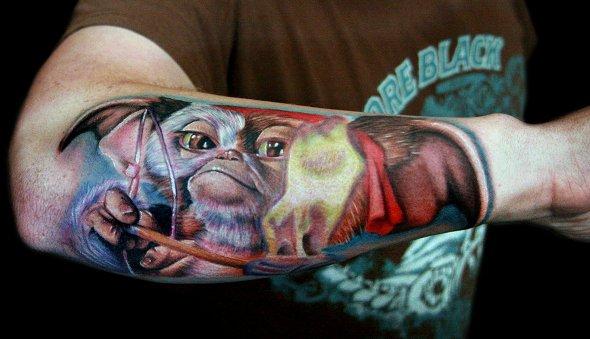 tatuajes inspirados en películas para chicos