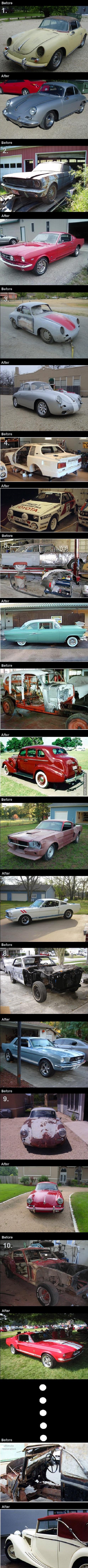autos restaurados