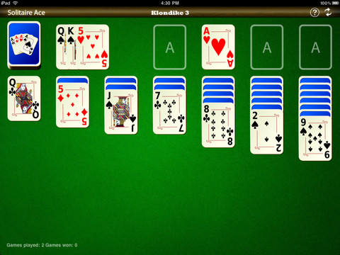 solitaire ace for ipad