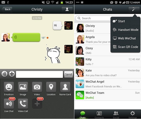 WeChat para Android gratis