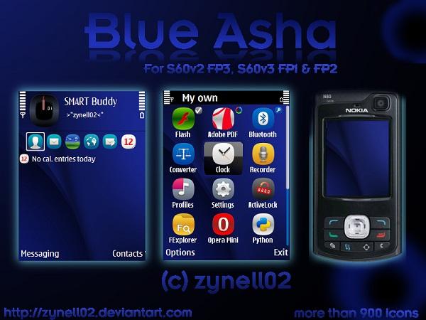 blue asha