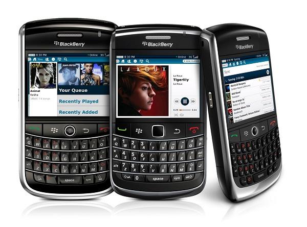 escuchar música en blackberry