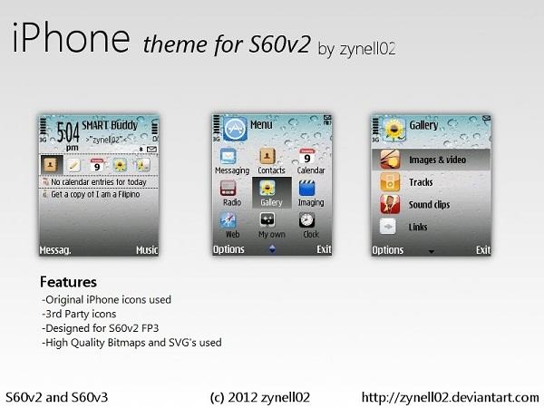 iphone theme s60