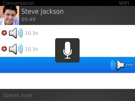 talkbox para blackberry