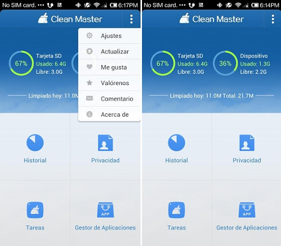 Clean Master el CCleaner para Android
