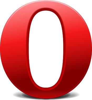 Navegador Opera web