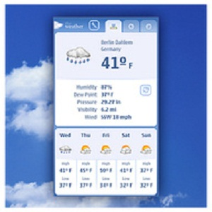 Aplicaciones para Nokia N9 The Weather