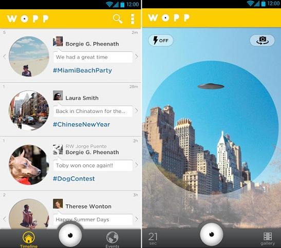 Wopp para Android