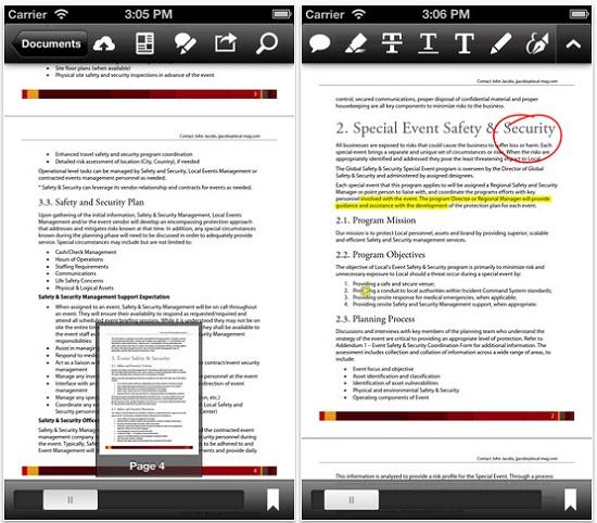 Aplicaciones PDF para celulares y tablets