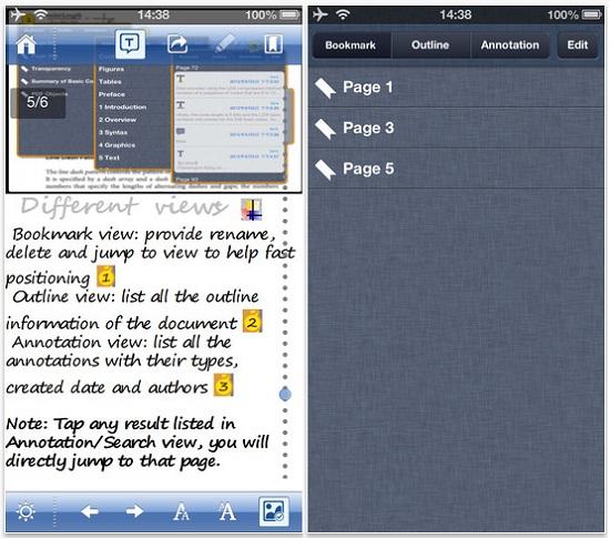 Aplicaciones PDF para celulares y tablets gratis