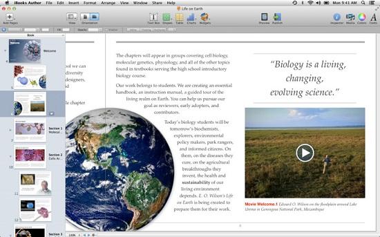 Crear libros gratis en Mac e iOS