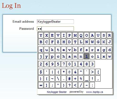 Keylogger Beater Privacidad en Firefox