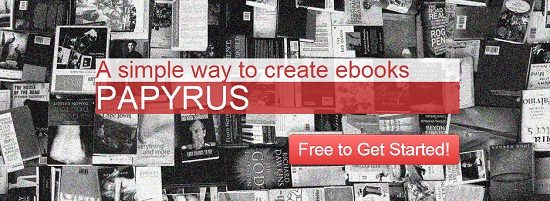 Papyrus para crear libros gratis