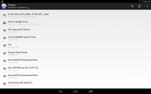 Imprimir desde Android