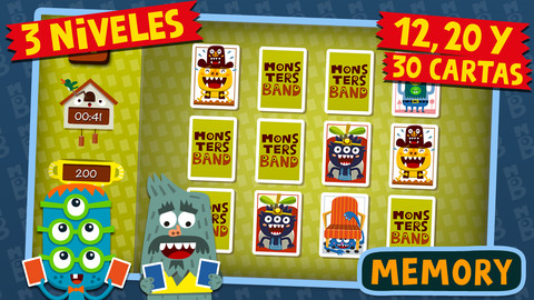 Aplicaciones educativas para iPad Monsters Band