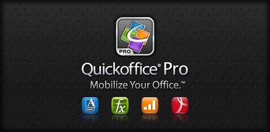 QuickOffice Alternativas a Microsoft Office