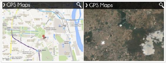 GPS Maps para BlackBerry